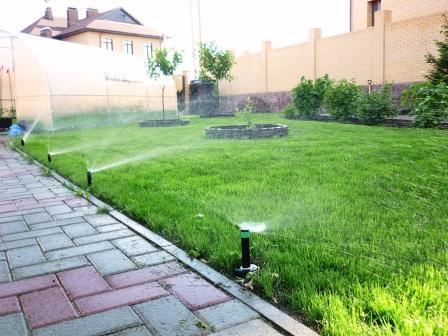 полив газона в челябинске